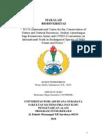 MAKALAH CITES & IUCN.docx