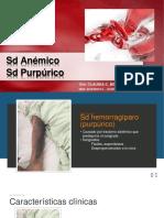 CBN - Sd Anémico y Purpúrico