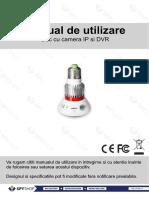 Manual de Utilizare Camera IP