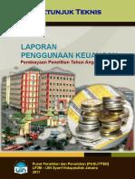 02 Juknis Pelaporan Keuangan Penelitian 2017
