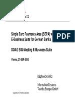 Schmitz SEPA Toshiba