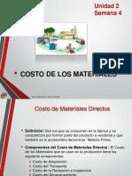 U2 S04 - CP - Costo de Materiales