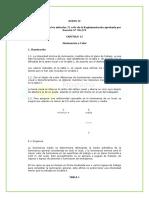 ANEXO IV Correspondiente a Los Artículos 71 a 84 de La Reglamentación Aprobada Por Decreto 351 79