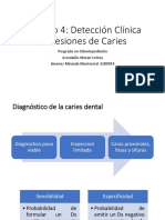 Capítulo 4 Deteccion Clinica de Lesiones de Caries
