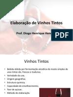 Resumo - Produção de Vinhos Tintos