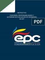 EPC-SIGC-In- 13 Instructivo Funciones Responsabilidades