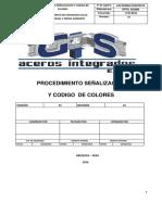 Procedimiento Señalizacion-Aceros Integrados g&s