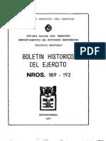 Boletín Histórico Nº 189-192 _1977