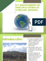 Problemas y Abastecimiento de Agua Potable