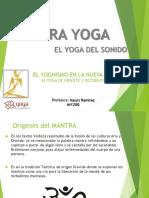 Mantra Yoga en La Nueva Era
