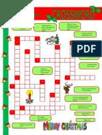 Christmas Crossword Crosswords Fun Activities Games Warmers Coolers Wo 37796