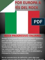 Rock progresivo italiano