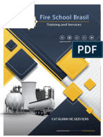 Catálogo de Serviços Fire School Brasil - 2018