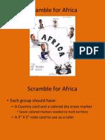 africa scramble simulation  2