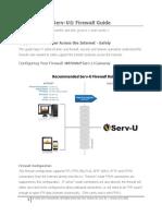 Serv-U Firewall Guide