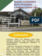 Presentation Puskesmas Karang Tengah Kelompok B