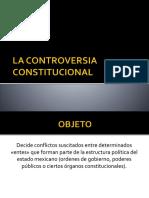 La Controversia Constitucional