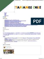 """34. Vegetarianos Chile — ANTINOTICIAS_ Primer Bebé Bautizado Con El Nombre """"Vegan"""" Es Chileno"""