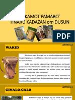KAKAMOT PAMABO'