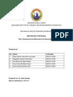 Proposal Mini Project Oil&Fat
