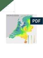 Mapa Holanda