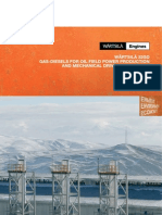 Gas Diesels Oil Field Power Production Brochure