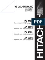 Manual Operador ZX30 - 35 - 40 - 50