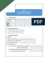 Formulario de Instalaciones de Colegios