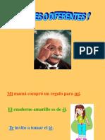 Gramática - Iguales y Diferentes