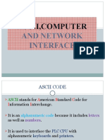 Ascii,Computer and Network Interface