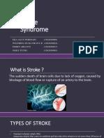 Post Stroke Syndrome