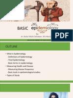 3.Kuliah 3 - Basic Epidemiology 2018
