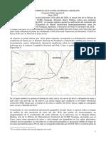 Punto Tripartito o Trifinio Ayacucho-Apurimac-Arequipa