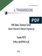 Digital Transimission Diapositivas NHK