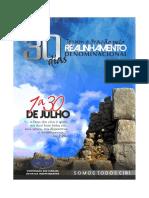 30 Dias de Jejum Realinhamento Denominacional