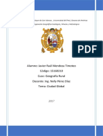 Informe Ciudad Global