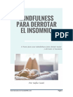 Mindfulness Para Derrotar El Insomnio Pnl