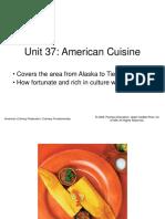 Unit37.American Cuisine