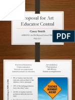 proposal for art educator central