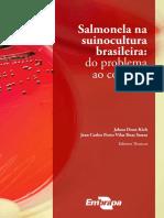 Salmonela Na Suinocultura Brasileira - Do Problema Ao Controle