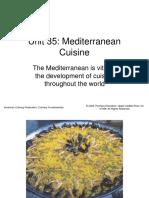 Unit35.Mediterranean Cuisine
