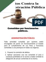Delitos c. a. p. Cometidos Por Funcionarios Publicos