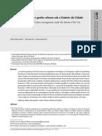 ADP 007 - Participação Política e Gestão Urbana Sob o Estatuto Da Cidade