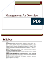 Management Unit-1 Intoduction