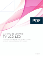 MANUAL DE LG TV