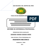 Formato de Informe de Experiencia Profesional Fim