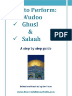 How to Perform Wudu Ghusl Salaah A5