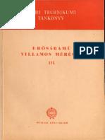 Selmeczy Szily Erősáramú Villamos Mérések 3
