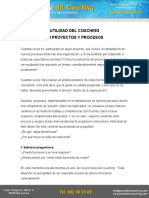 Rol Del Coaching en Proyectos y Procesos