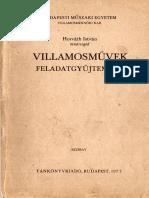 Horváth Villamosművek Feladatgyűjtemény